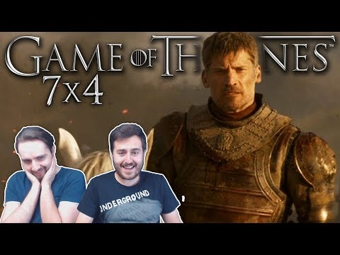 Game Of Thrones Season 7 Episode 4 REACTION