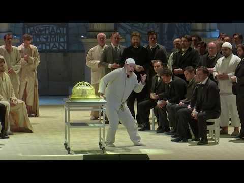 "Gerald Finley sings Amfortas: ""Wehe! Wehe mir der Qual!"": Parsifal, Act I SUBS"