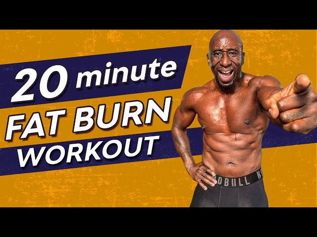20 Minute Home HIIT Workout For Men Over 40