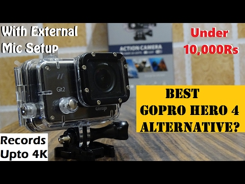 GitUp Git2 Pro Unboxing with External Mic & Accessories | Hands On | Best GoPro Alternative