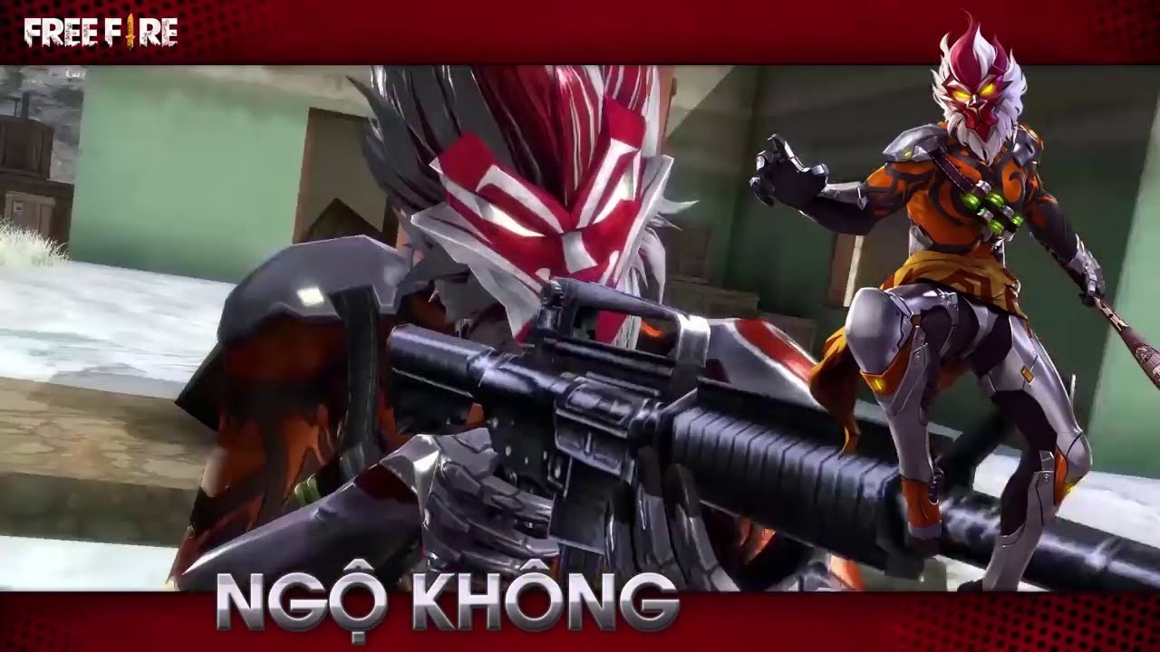 New Character Wukong Official Trailer Free Fire Batlegrounds
