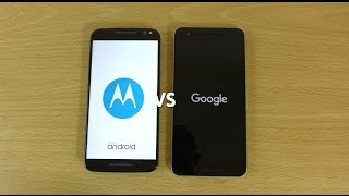 Moto X Style (Pure) Android 6.0 VS Nexus 6P 6.0.1 - Which Fastest?
