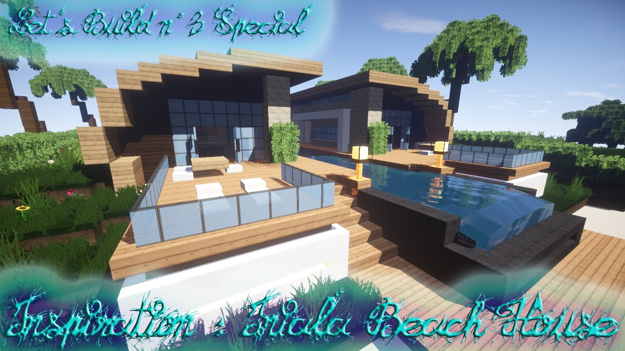 Minecraft let 39 s build beach house n 3 pisode final et for Beach house 3 free download