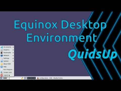 Desktop December - EDE Equinox Desktop Environment