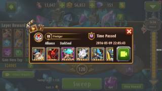 Magic Rush Heroes: Crystal Dungeon 120 (Masmorra de Cristal)