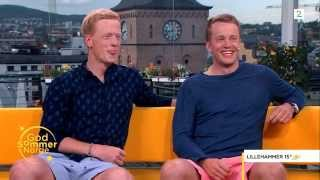 Tarjei and Johannes Boe on the program God Sommer Norge