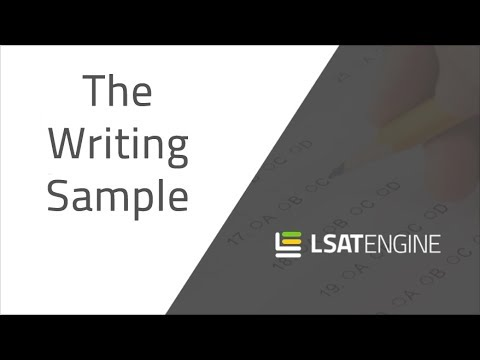 The LSAT Writing Sample - YouTube