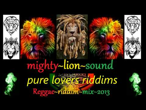 Lovers Reggae Vybz Mixed In 2013 By Mighty-lion Sound