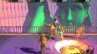 TMNT Turtles in Time Reshelled Online 4 Player Gameplay (6 of 6) Full Story Mode on Hard