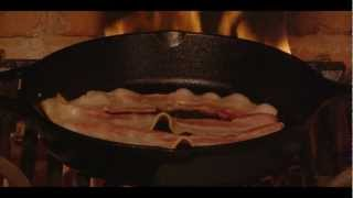Bacon Yule Log Is Back! - A Virtual Fireplace For Your Holiday