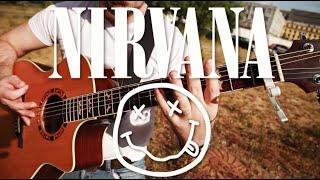 Nirvana - Smells Like Teen Spirit. Fingerstyle Guitar. Dmitry LEVIN