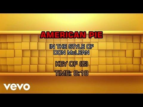 Don McLean - American Pie (Karaoke)