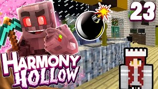 Minecraft Harmony Hollow Modded SMP Episode 23: Bombed Mess