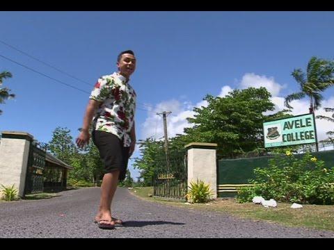 Ronnie in Samoa- Back to School (AVELE COLLEGE)