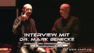 UnArt Live TV - Interview Dr. rer. medic., M.Sc., Ph.D. Mark Benecke, Waschkaue Gelsenkirchen 2010