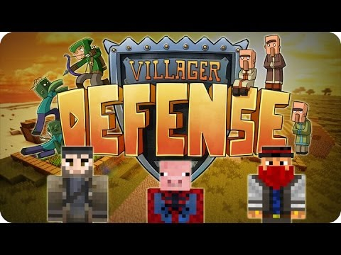 Minecraft - ¡El Romance Secreto! xD Villager Defense