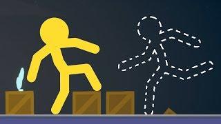 ЧЕЛОВЕК НЕВИДИМКА И ВОЛШЕБНЫЕ КОРОБКИ - STICK FIGHT THE GAME (СТИК ФАЙТ)