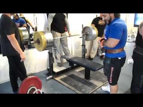 Zahir Khudayarov Bench press 4 x 240 kg - YouTube