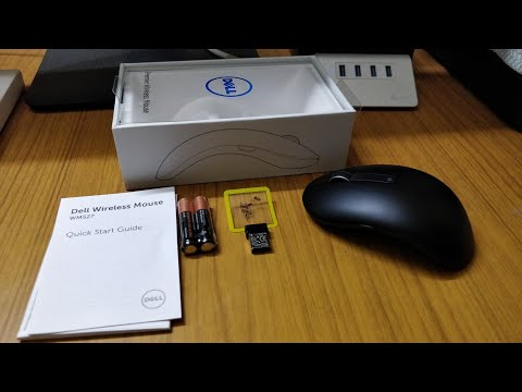 Dell Premier Wireless Mouse WM527 Unboxing and Review