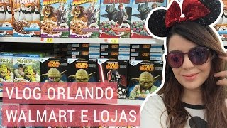 Vlog - Orlando: Walmart e lojas | Lia Camargo