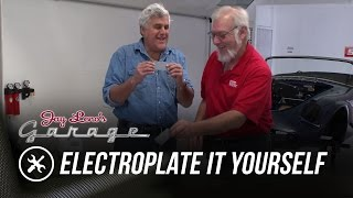 Skinned Knuckles: Electroplate It Yourself - Jay Leno
