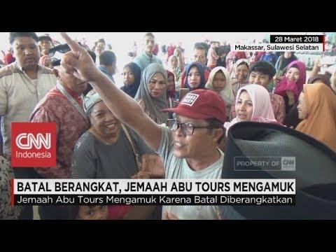 Batal Berangkat, Jemaah Abu Tours Mengamuk