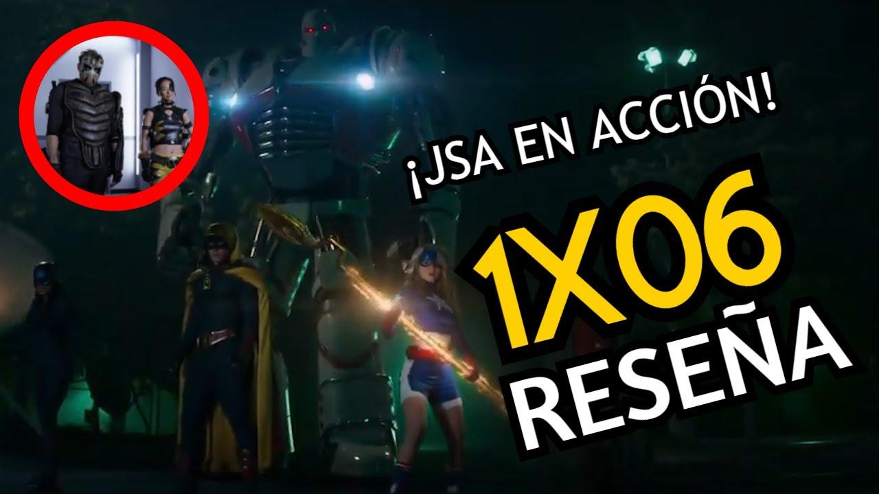¡LA JSA VS TIGRESS Y SPORTSMASTER! | STARGIRL 1X06 RESEÑA