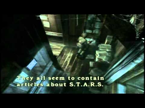 Resident Evil (Part 11) - BARRY'S ACTING FISHY