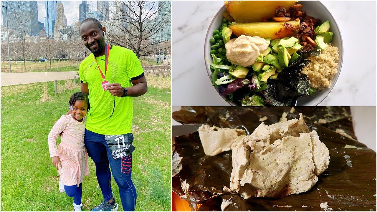 What a Vegan Dad Eats in a Day  Ultra Marathon run on Healthy Food