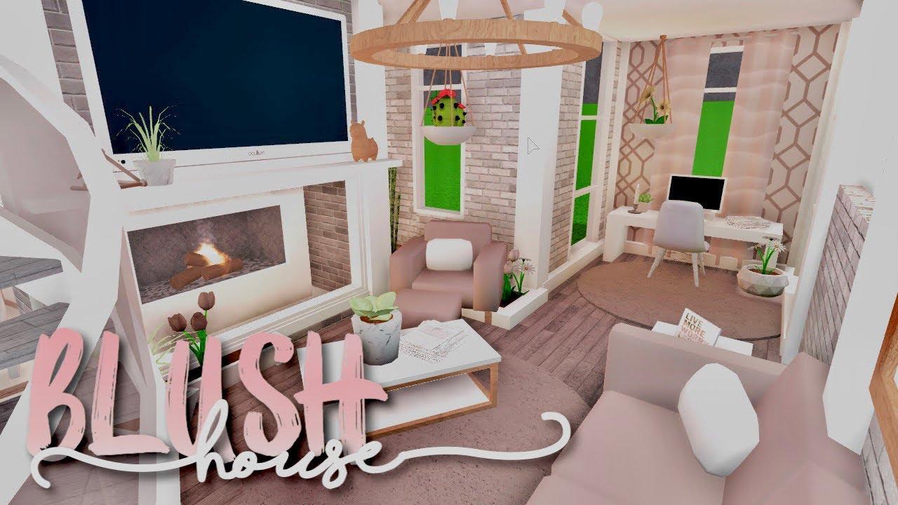 Bloxburg Blush House Youtube