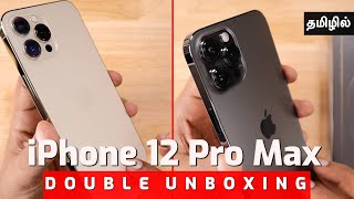 iPhone 12 Pro Max GOLD, GRAPHITE UNBOXING | Review Tamil