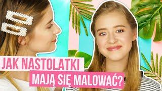 Makijaż dla NASTOLATKI! Kosmetyki na lato!☀️