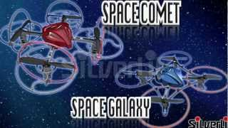 Flying Toys Space Comet Quadrocopter Performs 4-Axis Flips From Silverlit
