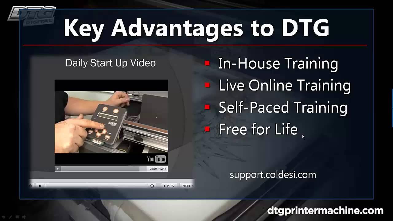 7a4e8dbfe9 Direct to Garment Printer: DTG M2 Direct to Garment Printer Advantages 2015  - YouTube