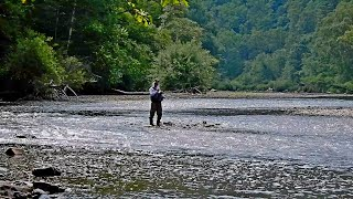 Рыбалка в Приморье Река Журавлевка Хариус ленок 19 23 07 2021 г Часть 2