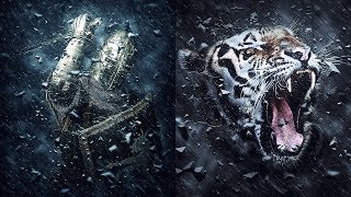 Dark Knight Photoshop Action Tutorial
