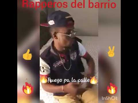 Raperito Ganster improvisando sabor Dominicano
