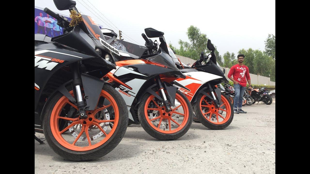 Ktm Orange Ride Jalandhar To Hoshiarpur Ktm 390 Vs Fzs 150