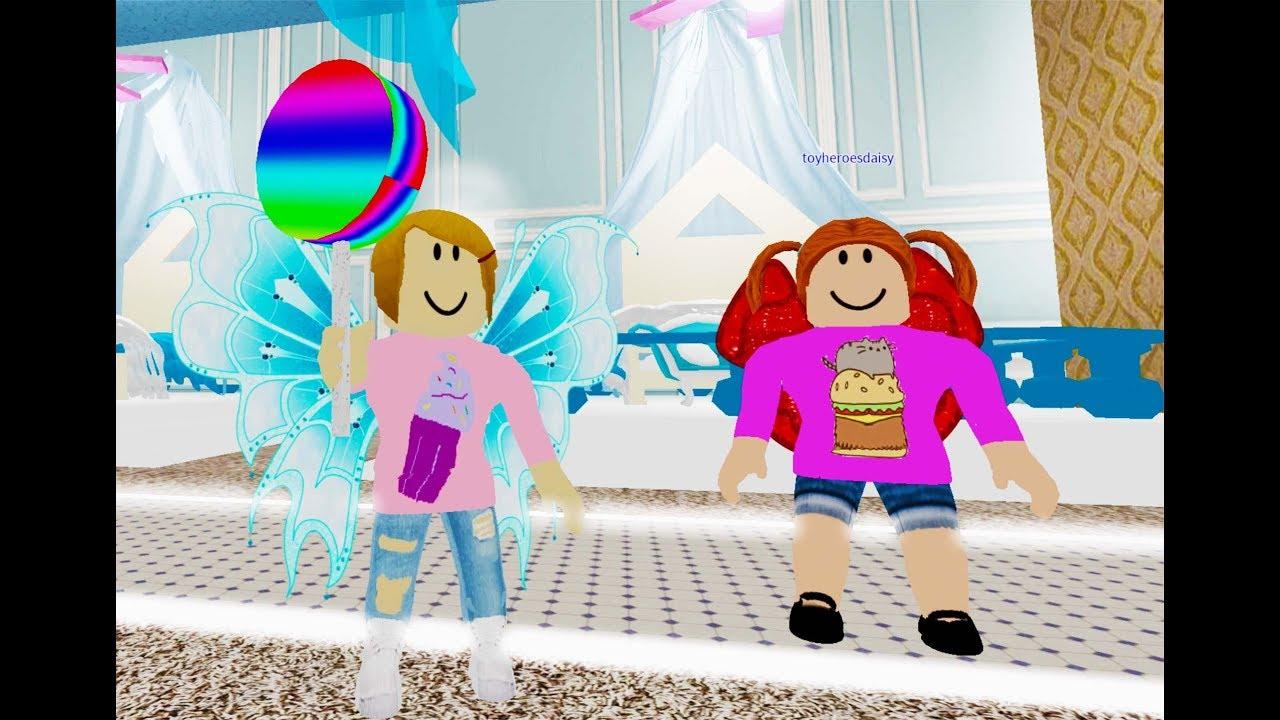 Roblox Fantasia Hotel With Molly And Daisy Youtube