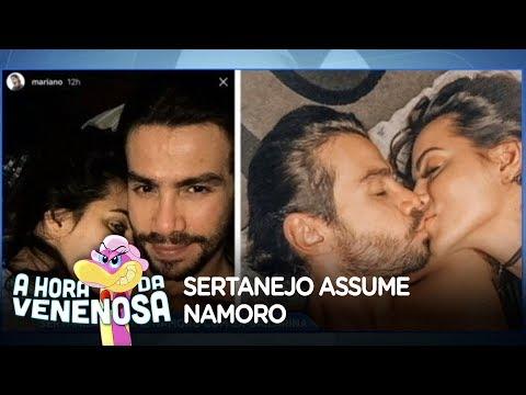 Sertanejo Mariano assume namoro com ex-bailarina
