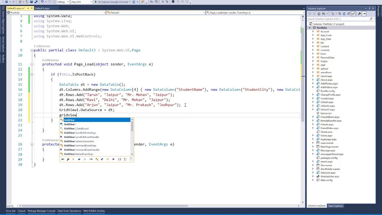 Add dynamic Header Row to GridView programmatically in ASP Net
