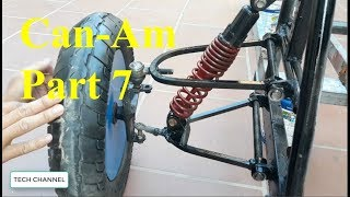 TECH - How to make a Can-Am motorcycle - part 7