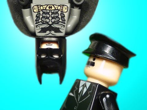 Lego Batman - Meeting with the Commissioner