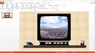 Tutorial PowerPoint 2013 |Cara Membuat Menu Animasi Video Slideshow di PowerPoint