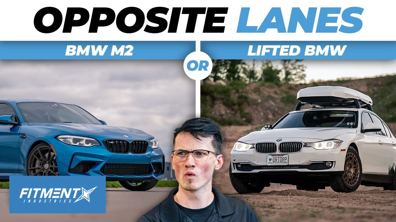 BMW M2 vs. 328D | Off-Road vs Track?! Opposite Lanes