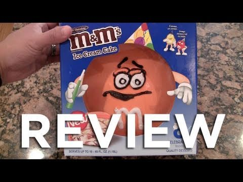 M&M Ice Cream Cake Video Review: Freezerburns (Ep427)