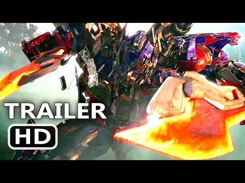 TRASFORMERS  THE LAST KNIGHT      - Official Trailer  2 NEW TRASFORMER TRAILER Poster