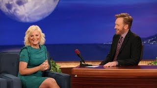 Amy Poehler Interview Part 01 - Conan on TBS