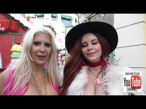 Angelique Morgan and Phoebe Price talk about their beef they had with eachother as they shop at The