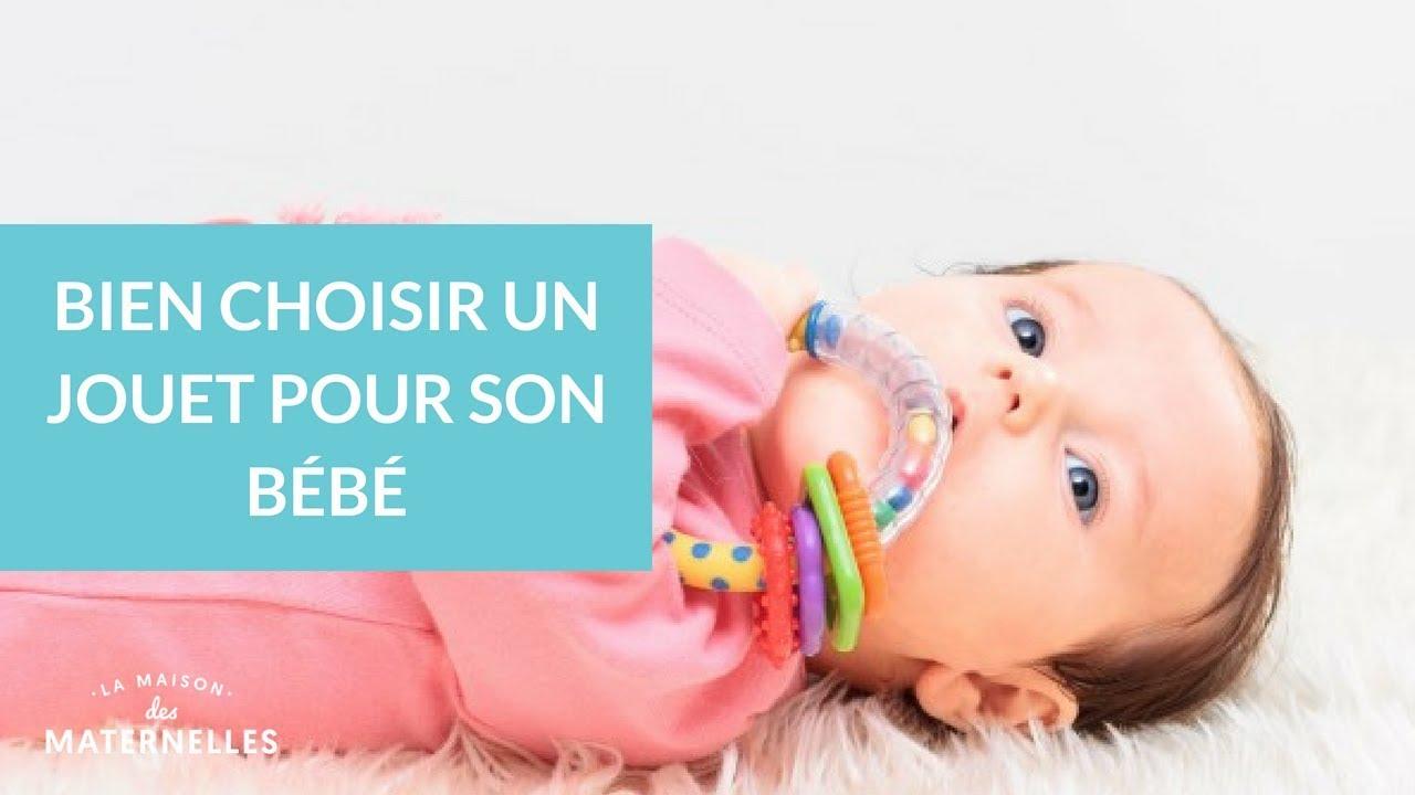 Bien choisir un jouet pour son bébé - La Maison des Maternelles #LMDM